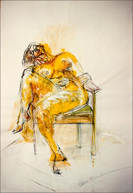 Drawing-Melanie