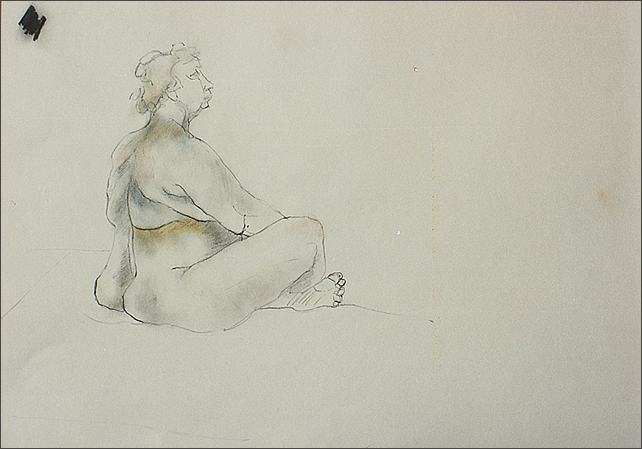 Drawing-Marion Back View